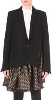 A.F.Vandevorst Booking layered wool blazer