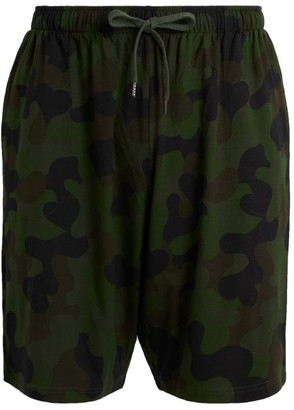Derek Rose Camouflage Lounge Shorts