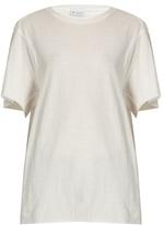 Raey Slouchy raw-edge cotton T-shirt