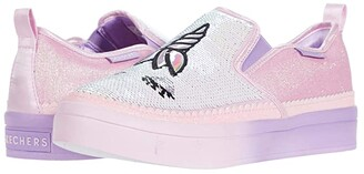 Skechers Twinkle Toes - Twi-Lites 2.0 314547L (Little Kid/Big Kid) (Light Pink/Multi) Girl's Shoes