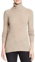 Aqua Cashmere Turtleneck Cashmere Sweater