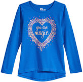 Epic Threads Hero Kids by Mix and Match You Are Magic Graphic-Print Shirt, Toddler Girls (2T-5T), Created for Macy's