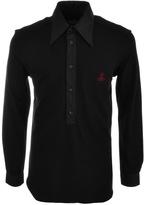 Vivienne Westwood Pique Polo T Shirt Black