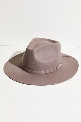 Free People Saratoga Suede Felt Hat