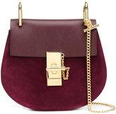 Chloé 'Drew' shoulder bag - women - Calf Suede/Calf Leather - One Size