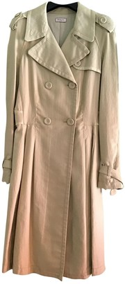 Max & Co. Beige Cotton Coat for Women