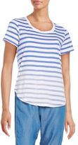 Splendid Sunfaded Striped Jersey Tee