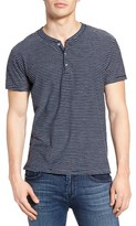 Sol Angeles Men's Pucker Stripe Henley T-Shirt