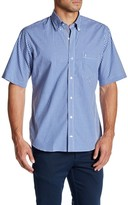Tailorbyrd B Harrison Short Sleeve Trim Fit Woven Shirt