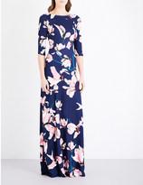 Erdem Valentina stretch-jersey gown