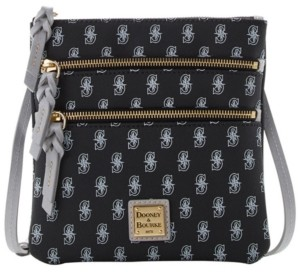 Dooney & Bourke Seattle Mariners North South Triple Zip Purse