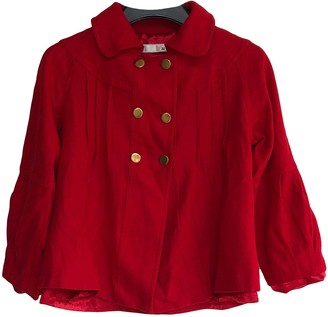 3.1 Phillip Lim Red Wool Jacket for Women Vintage