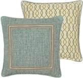 Rose Tree Odessa Bordered & Ogee Reversible Square Pillow
