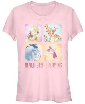 Fifth Sun Women's Winnie the Pooh Squad Short Sleeve T-shirt