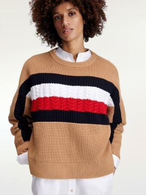 Tommy Hilfiger Tommy Icons Mix Knit Jumper