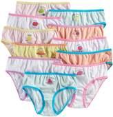 Maidenform Girls 4-14 11-pk. Fruit Days of the Week Brief Panties