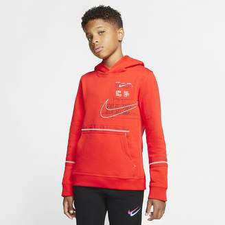 Nike Big Kids' (Boys') Pullover Hoodie Club