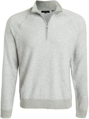 Vince Birdseye Quarter Zip Pullover