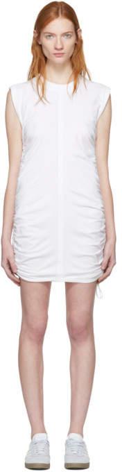 Alexanderwang.T alexanderwang.t White High Twist Side Tie Dress