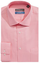Geoffrey Beene Classic Fit Wrinkle Free Dobby Dress Shirt with Stain Defense