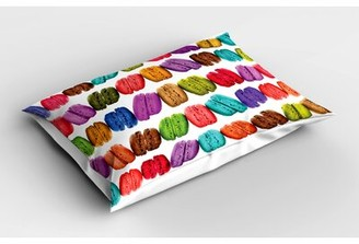 East Urban Home Coffee Colorful Sham Size: Twin