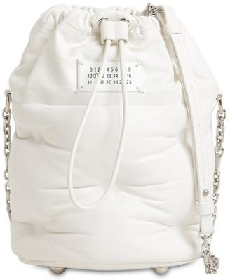 Maison Margiela Glam Slam Leather Bucket Bag
