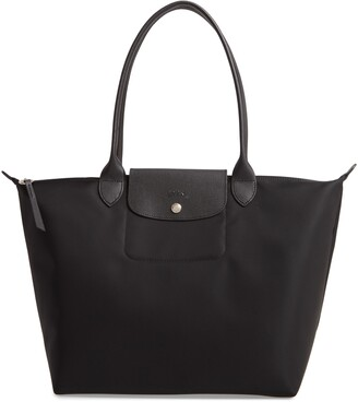 Longchamp Large Le Pliage Nylon Tote