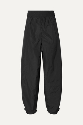 See by Chloe Gathered Taffeta Pants - Black