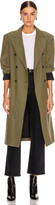 John Elliott Belted Trench Coat in Olive | FWRD