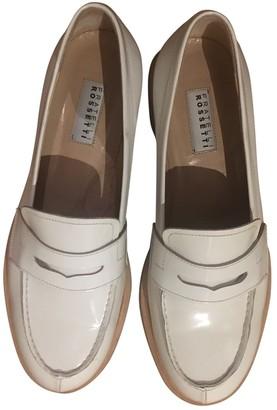 Fratelli Rossetti White Leather Flats