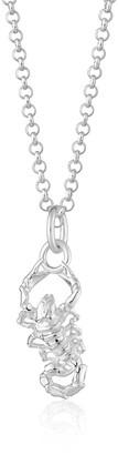 Scream Pretty Silver Scorpion Necklace