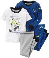 Carter's 4-pc. Dino Pajama Set - Toddler Boys 2t-5t