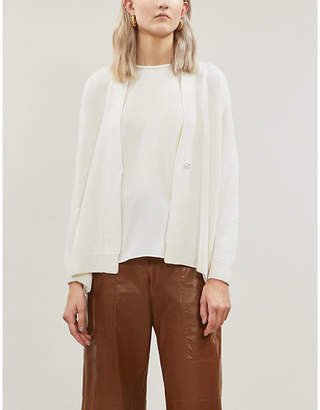 Brunello Cucinelli Button-up cashmere-and-silk blend cardigan