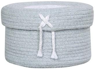 Lorena Canals Basket Candy Box Small Light Blue