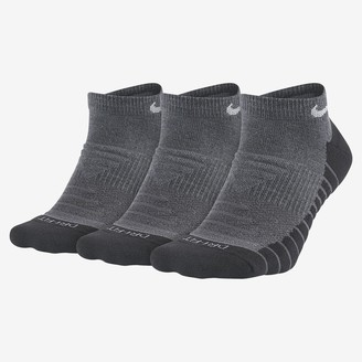 Nike Training No-Show Socks (3 Pairs Everyday Max Cushioned