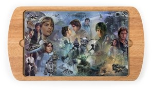 Picnic Time Toscana by Star Wars Billboard Glass Top Serving Tray