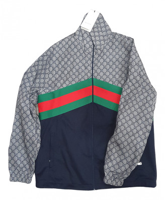 Gucci Navy Viscose Knitwear & Sweatshirts