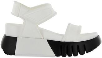 Mia Colorblock Flatform Sandals