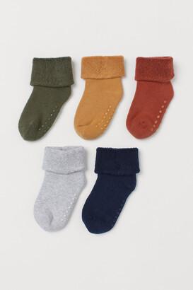 H&M 5-pack Terry Socks