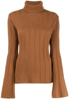 Each X Other Ribbed Roll Neck Jumper
