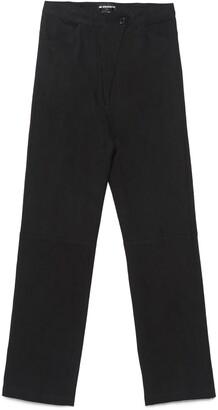 Ann Demeulemeester High-Waisted Trousers