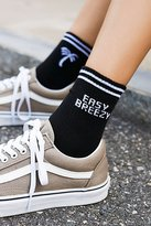 Double Time Crew Sock by Yeah Bunny at Free People