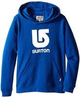 Burton Logo Vertical Pullover Hoodie (Big Kids)