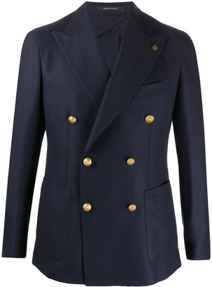 Tagliatore Double-Breasted Fitted Blazer