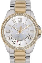 Juicy Couture Stella Women's Quartz Watch with Mother of Pearl Dial Analogue Display and Silver Stainless Steel Plated Bracelet 1901010