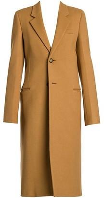 Bottega Veneta Compact Wool Single-Breasted Coat