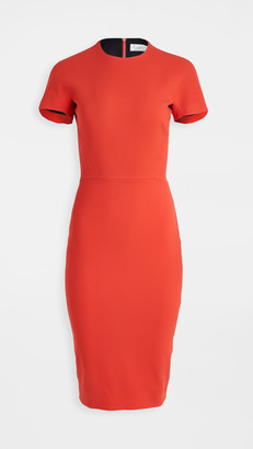 Victoria Beckham T-Shirt Fitted Dress
