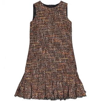 Dolce & Gabbana Multicolour Wool Dresses