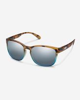Eddie Bauer Women's Suncloud® Loveseat Sunglasses - Matte Tortoise Blue Fade