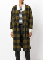 Etoile Isabel Marant Glitz Coat Dark Green